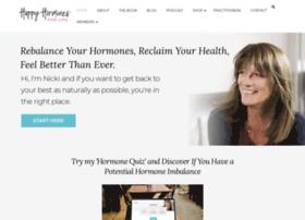 happyhormonesforlife.com