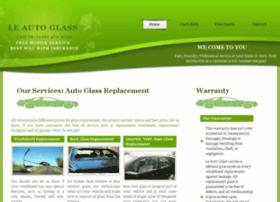 happyleautoglass.com