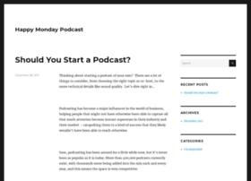 happymondaypodcast.com