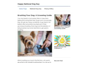 happynationaldogday.com