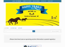 happytrailsauctions.com