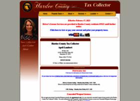 hardeecountytaxcollector.com