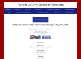 hardincountyelections.com