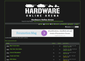 hardwareonlinearena.home-forum.com