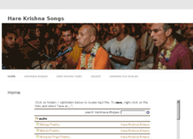 harekrishnasongs.com