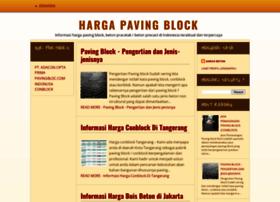 hargapavingblocks.blogspot.com