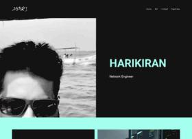harikiran.com