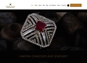 haritikajewellery.com
