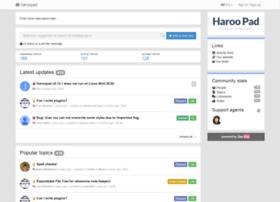 haroopad.userecho.com