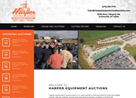 harperequipmentandauctions.com