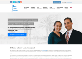 harrylevineinsurance.com