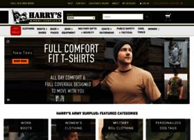 harrysarmysurplus.net