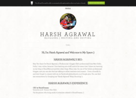 harshagrawal.brandyourself.com