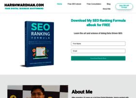harshwardhan.com