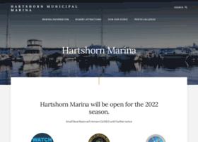 hartshornmarina.com