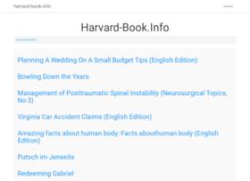 harvard-book.info