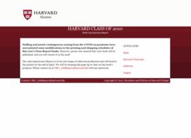 harvard10.reuniontechnologies.com