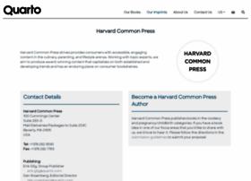 Harvardcommonpress.com