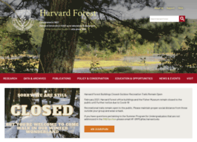 harvardforest.fas.harvard.edu