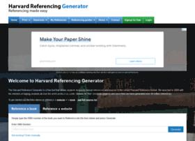harvardgenerator.com