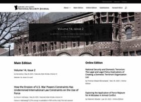 harvardnsj.org