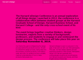 harvardxdesign.com