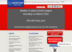 harvest.pleasantonusd.net