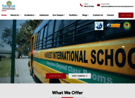 harvestinternationalschool.in