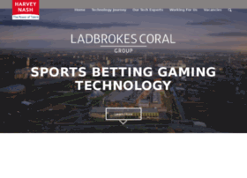 harveynash-ladbrokescoral.com