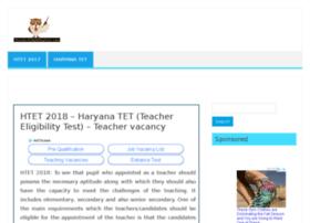 haryana.teachereligibilitytest.com