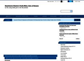 haryanasports.gov.in