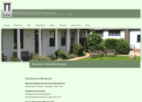 haslemeremuseum.co.uk
