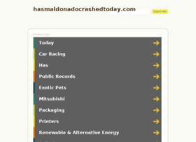 hasmaldonadocrashedtoday.com