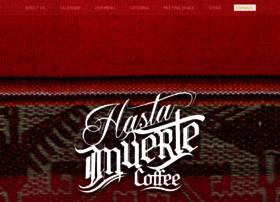 hastamuertecoffee.com