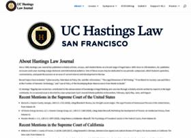 hastingslawjournal.org