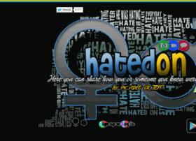 hatedon.com