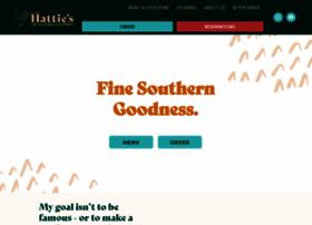 hattiesrestaurant.com