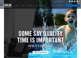 haukcustompools.com