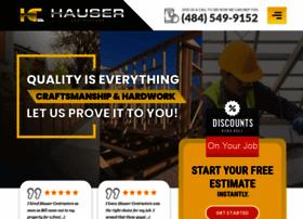 hausercontractors.com