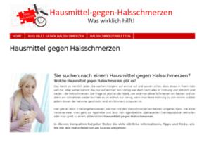 hausmittel-gegen-halsschmerzen.com
