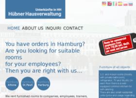 hausverwaltung-huebner.de