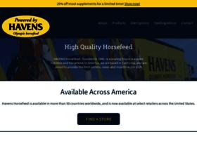 havenshorsefeedusa.com
