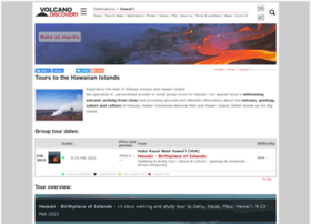 hawaii.volcanodiscovery.com