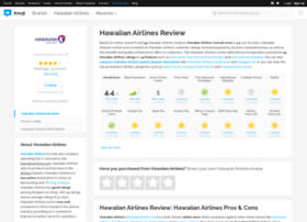 hawaiianairlines.knoji.com