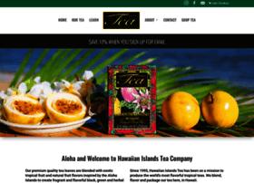 hawaiianislandstea.com