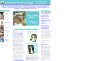hawaiianweddingshop.com