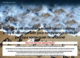 hawaiibeachcondos.com