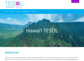 hawaiitesol.org
