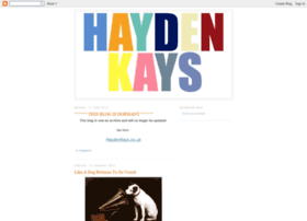 Haydenkays.blogspot.com