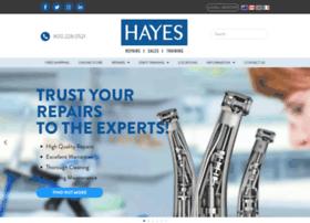 hayeshandpiece.com